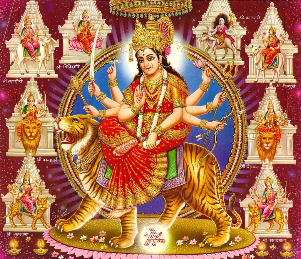 Spiritual lesson about Navaratri festival in India